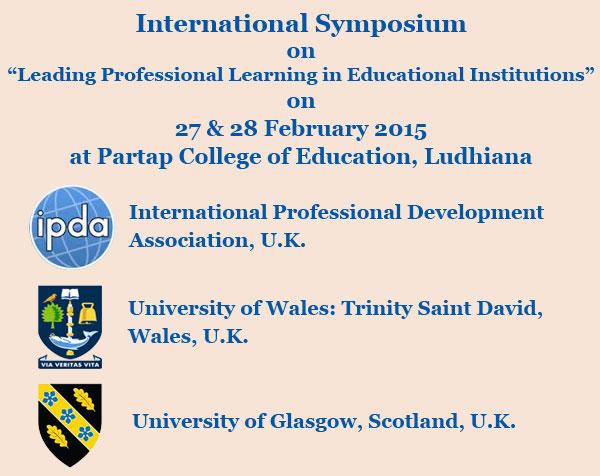 Two Days International Symposium