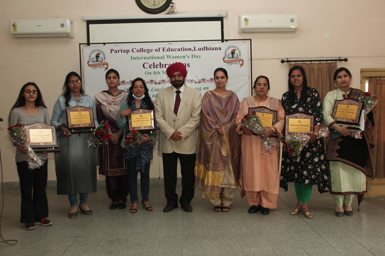 International Women's Day Celebrated at Partap College of Education, Ludhiana
